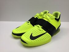 New Nike Romaleos 3 Weightlifting Crossfit Trainer Shoes Volt Size 13 852933-700
