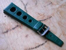 Genuine N.O.S. TROPIC SPORT Swiss Made strap. 22 mm. GREEN.