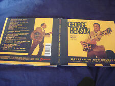GEORGE BENSON  WALKING TO NEW ORLEANS  2019 CD  PROMO STAMP ON DISC M-