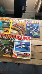 Bundle of 5 Guns and Weapons User Magazine(details below)