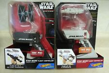 Star Wars Flight Controller Millennium Falcon and The Fighter Hot Wheels DieCast