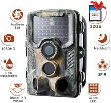 Crenova 20MP Jagdspielkamera 32G SD Card IR-LEDs 20m Nachtsicht Wasserdichter