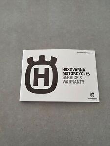 Honda Motorcycle Service and Warranty Book