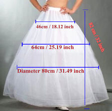 3-aro 1-capa Petticoat / wedding Crinolina Enagua Boda Rockabilly Fancy Dress
