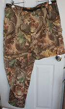 Camo Convertible Pants Zip-Off Shorts Mens 2XL 100% Nylon Whitewater Outdoors
