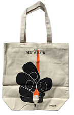 The NEW YORKER Canvas Tote Bag Geoff McFetridge Limited Edition Design 2018