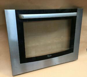 Oven Door Whirlpool Outer Glass Handle
