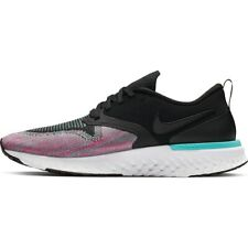 Nike odisea reaccionar 2 Flyknit AH1016-003 Blanco Negro Jade para Mujer Zapatos Para Correr