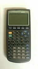 Texas Instruments TI-83 Graphing Calculator Black * NOTE: for Parts Not working