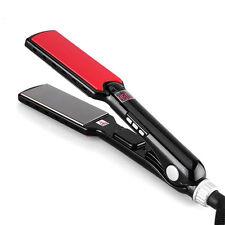 "360  Rotating 1.5"" Inch Titanium Hair Straightening Flat Iron Regular 450F"