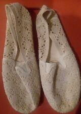 NWOB Women's Airwalk Cream Color Slip On Shoes Size 10