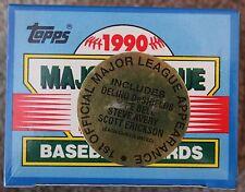1990 TOPPS MAJOR LEAGUE DEBUT BASEBALL CARDS FACTORY SEALED SET !!!