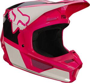 Fox Racing Youth V1 REVIN Helmet MX ATV MTB UTV Motocross Off-road Dirtbike