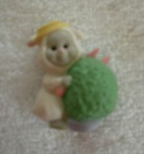 Hallmark 1993- Merry Miniatures - Lamb With Potted Tree - New