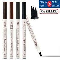 Microblading Waterproof Eyebrow Pencil Pen For Makeup, Draws Natural Brow Hairs