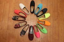 womens canvas flat shoes espadrille shoes slip on ballet loafer comfort sneaker