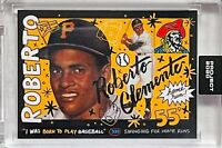 ROBERTO CLEMENTE 2020 TOPPS PITTSBURGH PIRATES SLABBED UNCIRCULATED SEALED CARD
