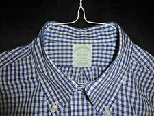 Real Nice - Brooks Brothers - 1818 Shirt Milano - White/Blue - 16 - 35