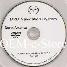 2006 2007 Mazda 5 Mazda 3Navigation DVD # GP9A 66 DZ0 C (K4238 ) NAVIGATION