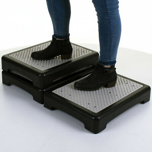 BATH STEP STOOL SAFETY STACKABLE DISABILITY ANTI SLIP RESISTANT RUBBER SHOWER