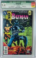 "Batman #509 CGC 9.4 / ""KnightsEnd"" Signed / Lady Shiva Appearance - #759/2500"