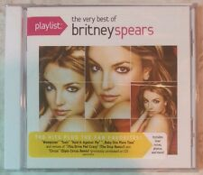 "PLAYLIST: THE VERY BEST OF BRITNEY SPEARS (CD, 2012 - USA) BRAND NEW, ""SEALED"""