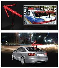 LED Safety Traffic Arrow Magnetic Baton Police Flashing Light