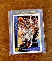 1993 Upper Deck #382 ANFERNEE HARDAWAY Rookie | Gradable 🌟Penny RC