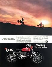 1970 Yamaha DT-1C Enduro 250 Motorcycle photo For Back Country vintage print ad
