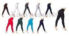 American Apparel Women's Cotton/Spandex Leggings, Jersey, Yoga Pants, 8328