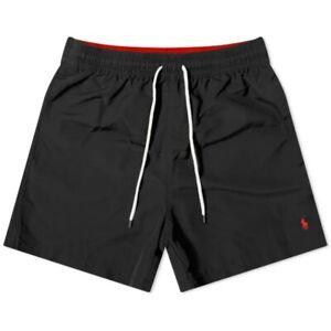 Polo Ralph Lauren Traveler Swim Shorts Color Black Trunks Size XXL