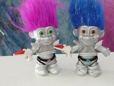2x VHTF Russ Silver Martian Trolls NEW (Store stock)