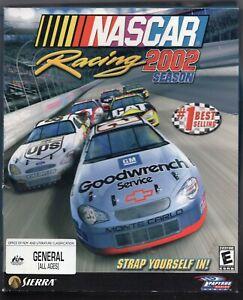 NASCAR Racing 2002 Season (PC game) 2001 Original Big Box