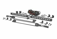 "Rough Country Dual 10"" CREE LED Light Bar w/ Grille Mounts, Silverado; 70817"