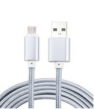 Câble micro usb nylon chargeur rapide pour Xiaomi Redmi 5,5 Plus,Note 5, 1 mètre
