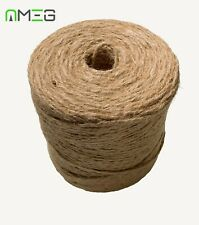 Natural Brown Shabby Style Rustic Twine String Shank Craft Jute Sisal Yarn Hemp