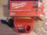 Milwaukee 48-59-2401 M12 Lithium-Ion 30 Minute Battery Charger ** Charger Only