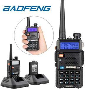 BAOFENG UV-5R RICETRASMITTENTE VHF/UHF DUAL BAND RADIO WALKIE TALKIE 400-480 MHZ