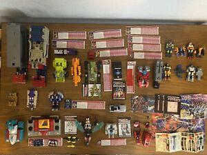 Huge Lot of G1 Transformers 1980's Vintage Figures Vehicles!!!