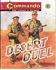 COMMANDO COMIC - No 339   DESERT DUEL