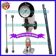 Diesel Injector Nozzle Tester Pop Pressure Tester Dual Scale BAR / PSI Gauge