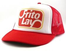 Frito Lay Trucker Hat mesh hat snapback hat red new adjustable potato chips hat
