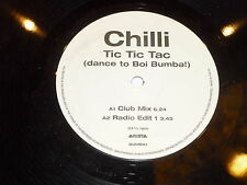 "CHILLI - Tic Tic Tic (Dance to Boi Bumba!) - UK 2-track 12"" single DJ PROMO"