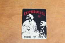 Tremonti - Unused Backstage Pass -  -  FREE SHIPPING -