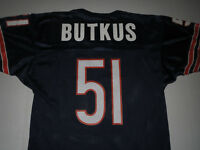 Vtg Dick Butkus Chicago Bears Champion NFL Jersey T-shirt Medium **MINT**