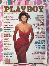 Playboy January 1990 Joan Severance, Peggy McIntaggart, Tom Cruise, Dice Clay