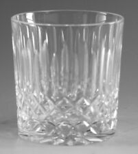 "EDINBURGH Crystal - APPIN Modern Star Cut - Whisky Tumbler Glass / Glasses - 3"""