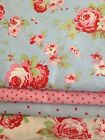 Fabric Material Ikea Cath Kidston Rosali Floral Dots Shabby Chic Various Lengths