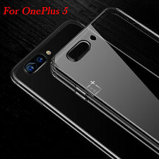 For OnePlus 5 A5000 Ultra Thin Slim Clear Soft TPU Silicone Back Case Cover Skin