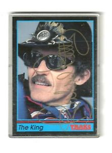 1991 Traks AUTOGRAPH THE KING PROMO Richard Petty BV$50!